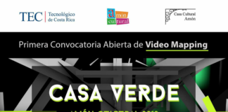 Primera Convocatoria Abierta de Video Mapping